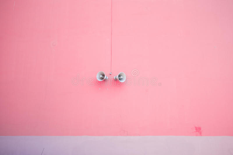 Pink minimalism today royalty free stock images