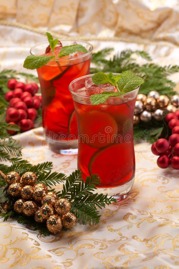 Pink Mojito stock photos