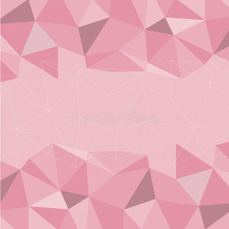 Pink Mosaic Background, Vector illustration. Creative Business Design Templates vector illustration