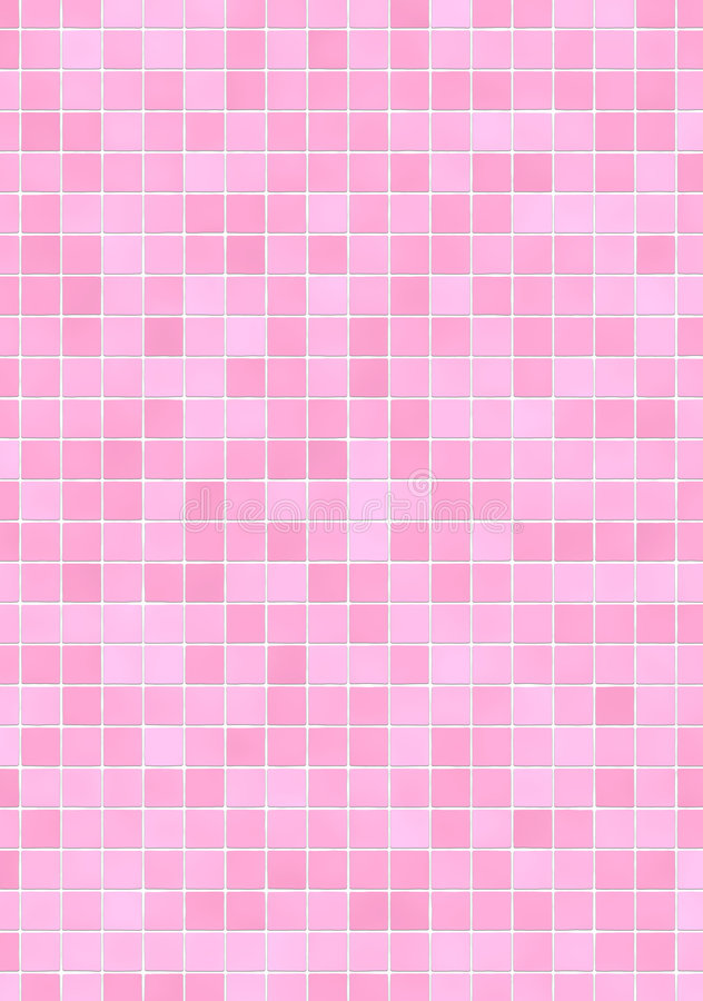 Pink Mosaic Tiles Stock Illustration Illustration Of Square 5002205