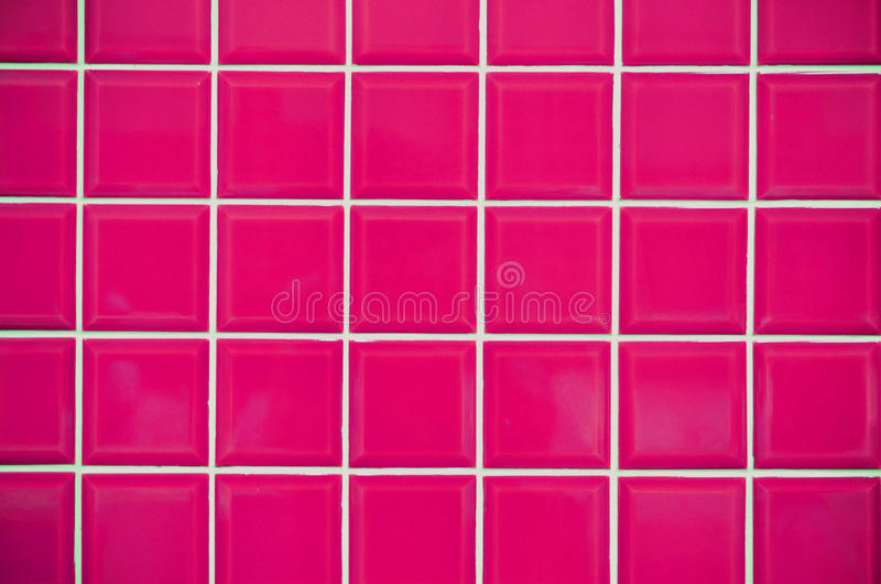 Pink Mosaic Tiles Texture Stock Image Image Of Enrich