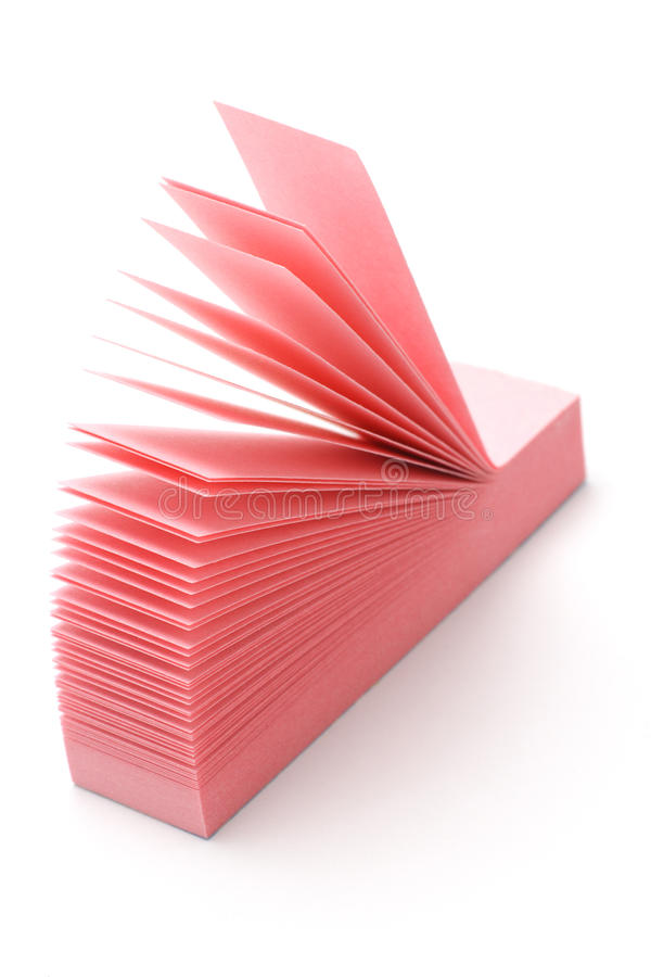 Download Pink narrow post-it stock photo. Image of supply, communication - 11120406