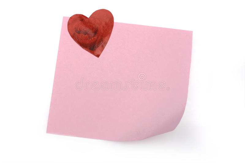 Pink Note Stock Images