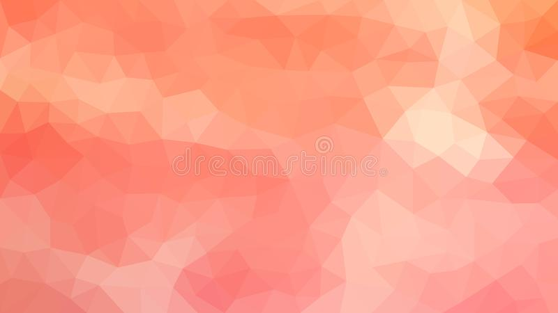 Pink and Orange Polygonal Texture for Abstract Background royalty free illustration