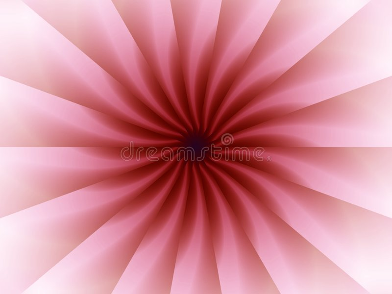 Pink Origami Folds Pattern royalty free illustration