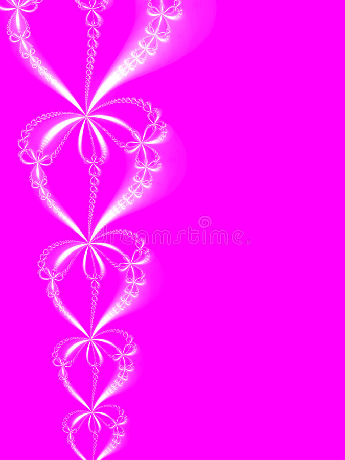 Pink Ornament Stock Photography