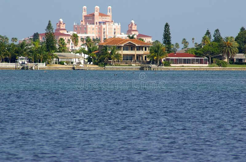 Download Pink Palace stock photo. Image of peaceful, florida, colorful - 1057362
