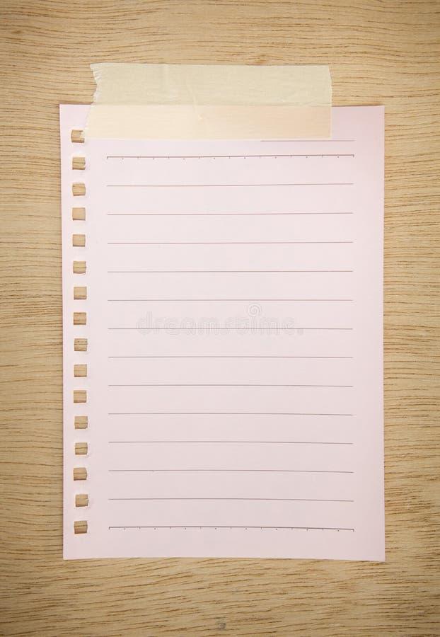 Download Pink paper sheet stock image. Image of pink, frame, office - 24548455