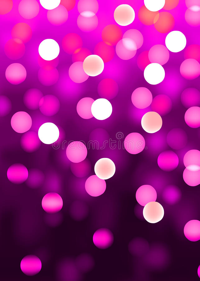 Pink party vector illustration