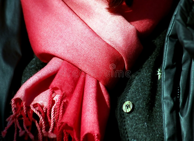 Pink pashmina stock photography
