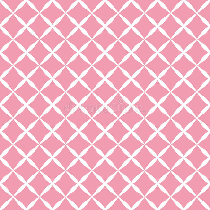 Pink pattern stock illustration