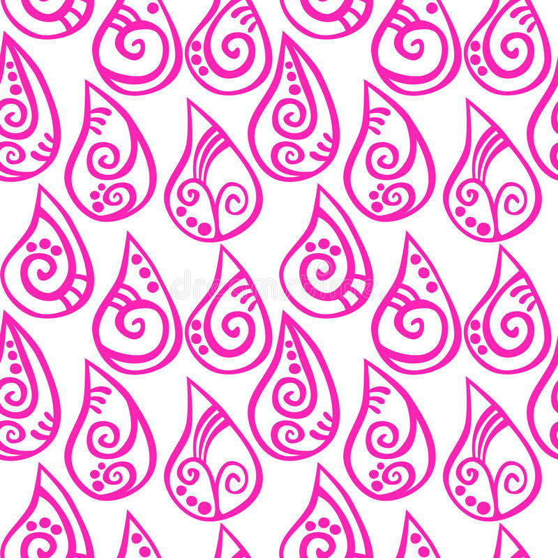 Download Pink Pattern Drops Seamless Background Stock Illustration - Illustration of backdrop, raindrop: 92307954