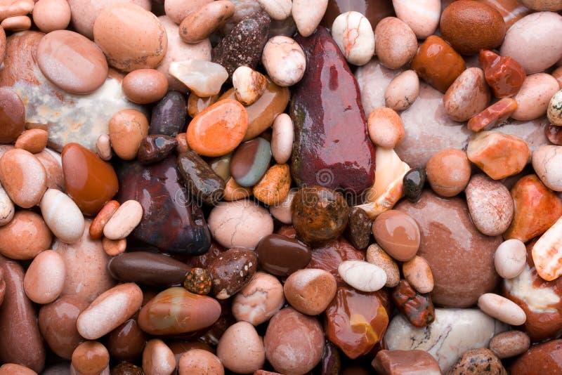 Pink pebbles. royalty free stock photos