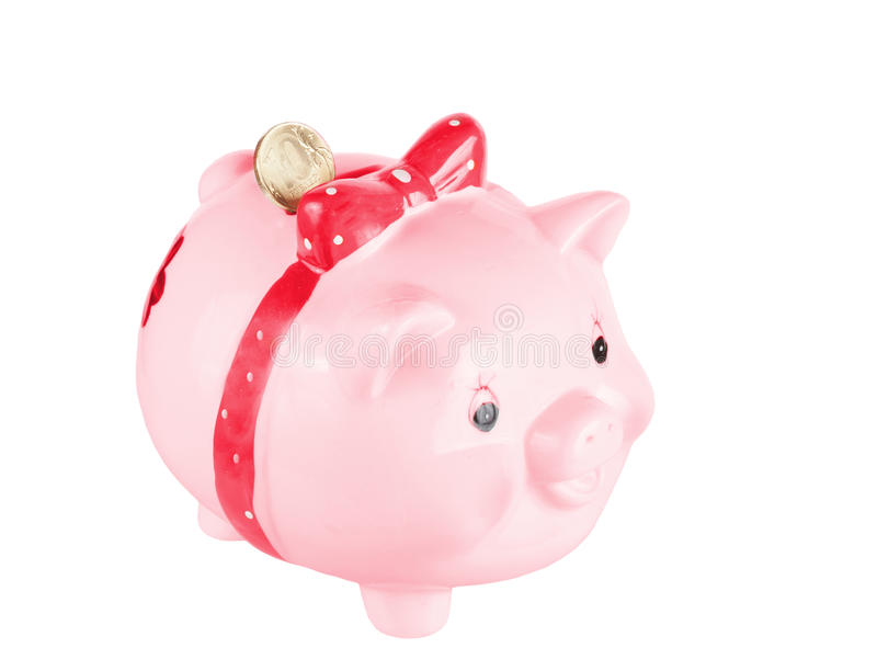 Download Pink A Pig-coin Box Royalty Free Stock Photography - Image: 26507307