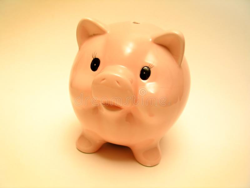 Download Pink piggy stock photo. Image of monetary, green, income - 35120
