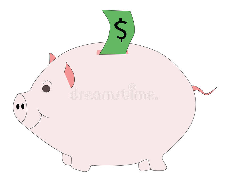 Download Pink piggy bank stock image. Image of piggy, investment - 49621083