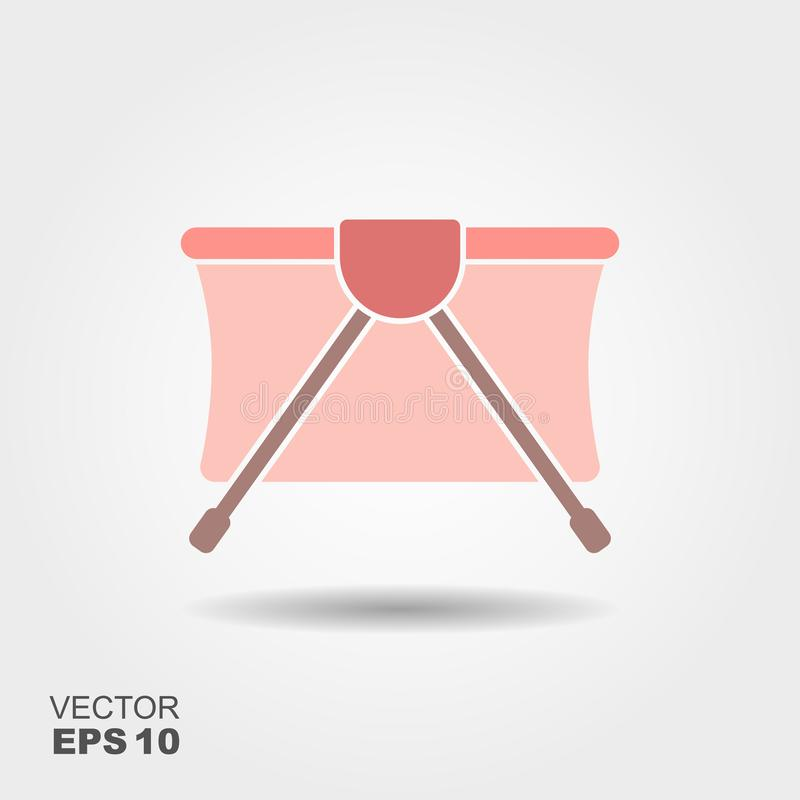 Playpen vector icon vector illustration