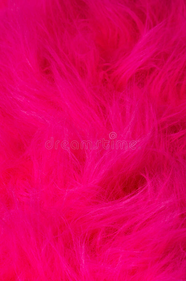 Pink plush fabric vertical royalty free stock images