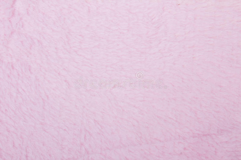 Pink plush royalty free stock photography