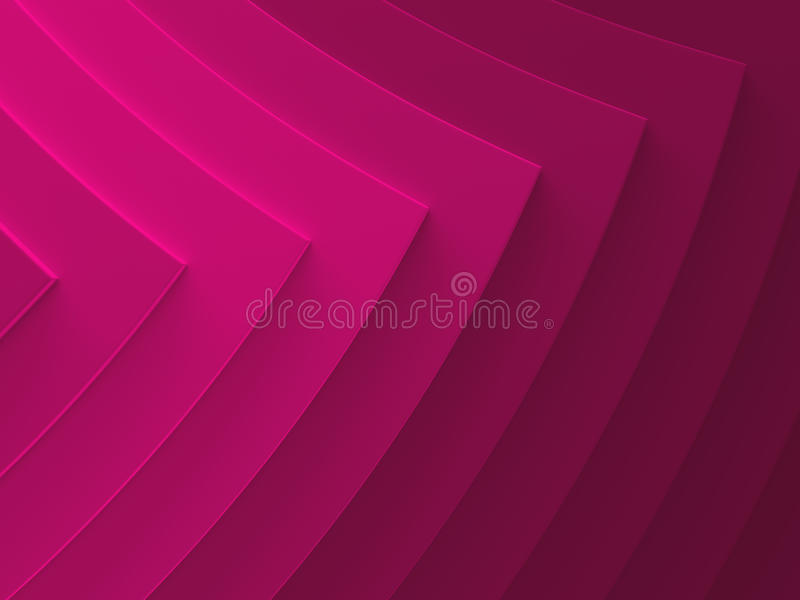 Pink pointers. Abstract background. This vector illustration