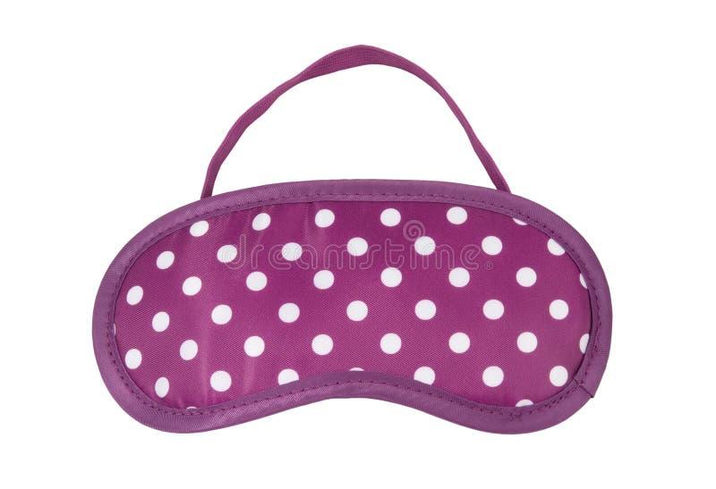 Download Pink Polka-dot Sleeping Mask Stock Image - Image: 21811175