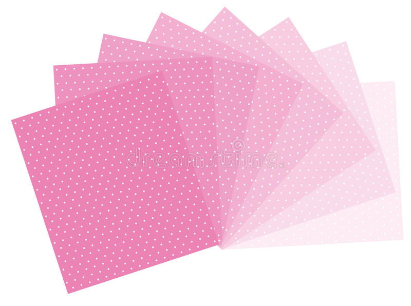 Download Pink polka dots stock vector. Image of girl, soft, dress - 29844856
