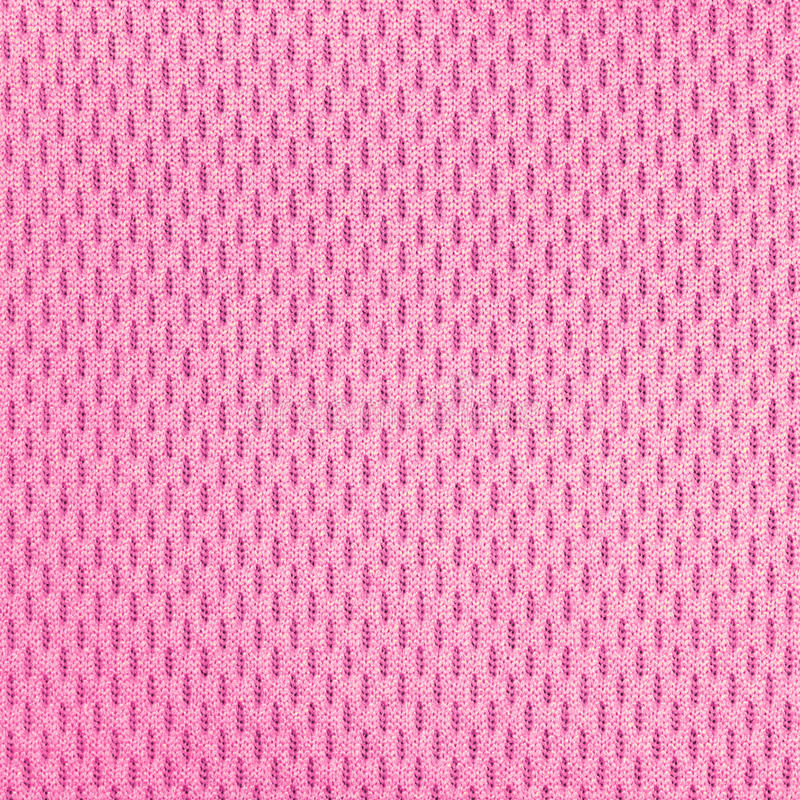 Pink polyester nylon sportswear texture. royalty free stock images