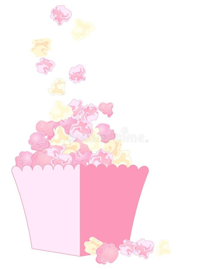 Free Pink Popcorn Royalty Free Stock Photography - 32834737