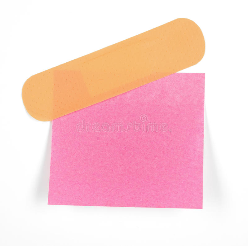 Pink post it