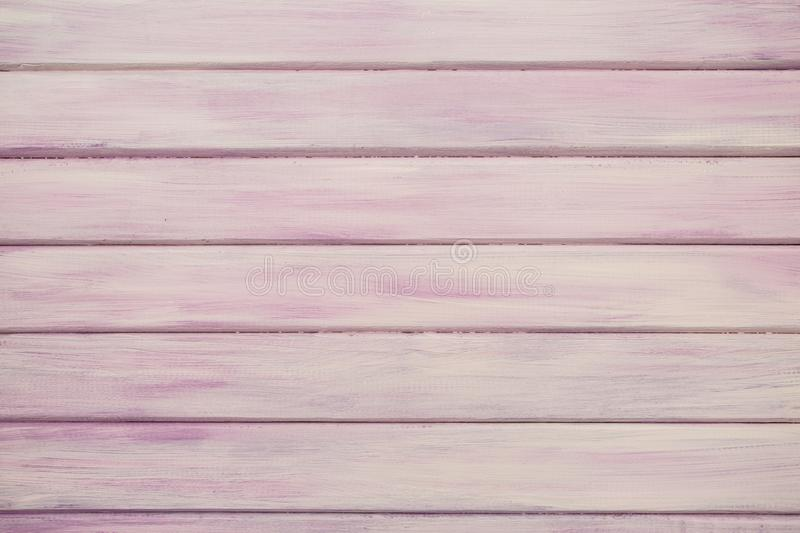 Pink/Purple Real Wood Texture Background royalty free stock image