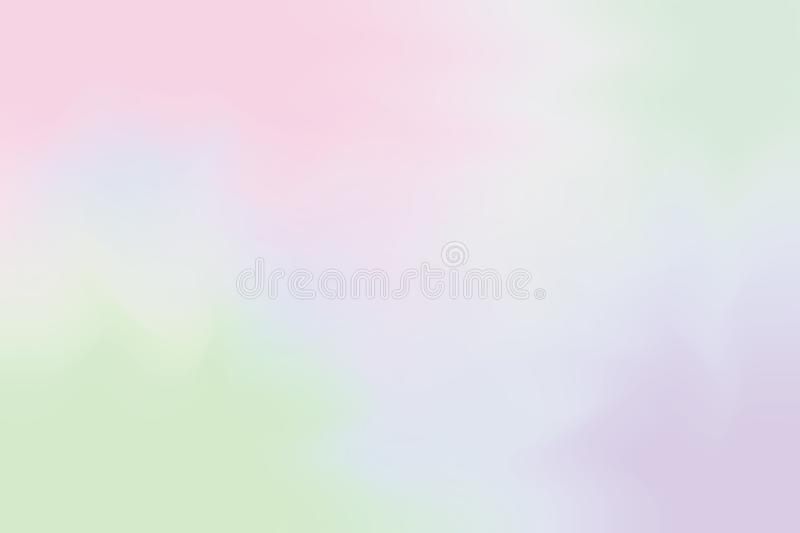 Pink purple soft color mixed background painting art pastel abstract, colorful art wallpaper stock illustration