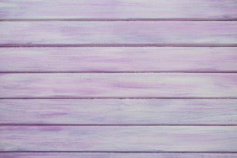 Pink/Purple Real Wood Texture Background royalty free stock photos