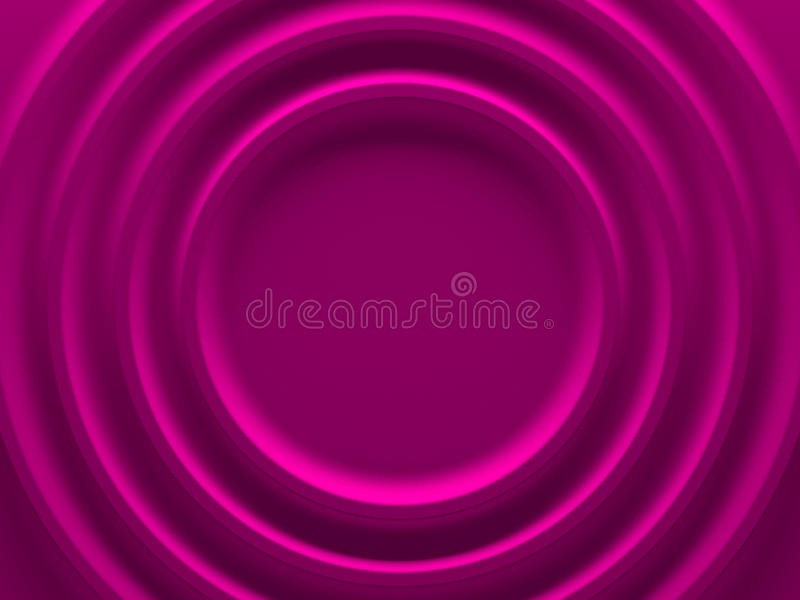 Pink radial geometric background for vector illustration