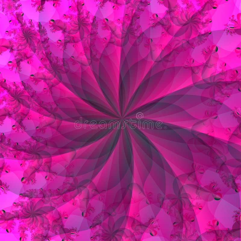 Pink Red Abstract Background vector illustration