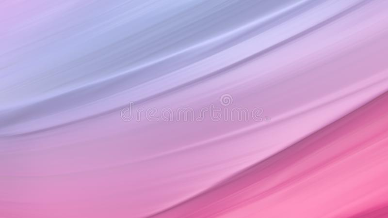 Pink red background abstract cloth or liquid waves illustration of wavy folds of silk texture satin material or multicolor royalty free illustration