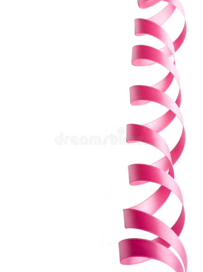 Download Pink Ribbon Border stock image. Image of holiday, decoration - 6554557