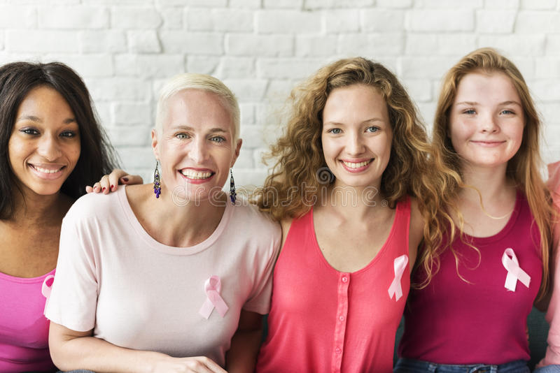 Pink Ribbon Breast Cancer Awareness Concept. Pink Ribbon Breast Cancer Awareness stock photo