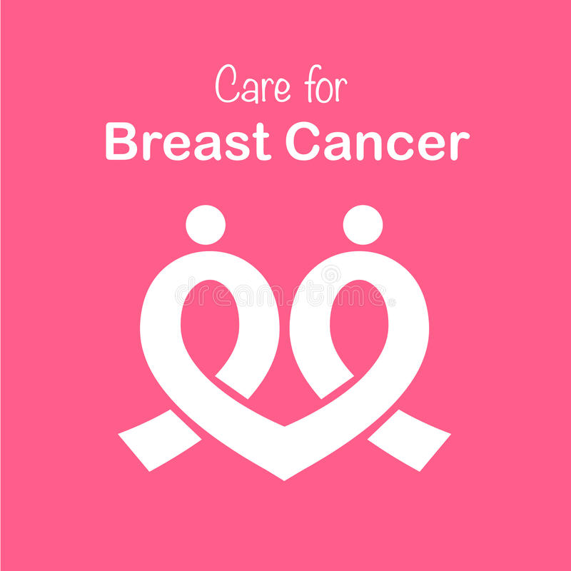 Free Pink Ribbon Breast Cancer Awareness Symbol Icon, Isolated On Pink Background. Vector Eps10 Illustration Stock Photography - 77956232