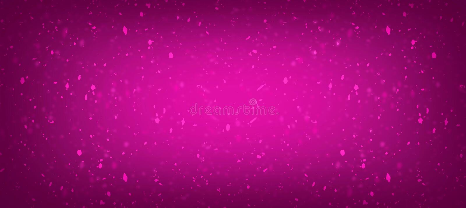 Pink with rose background textured gradient stock illustration