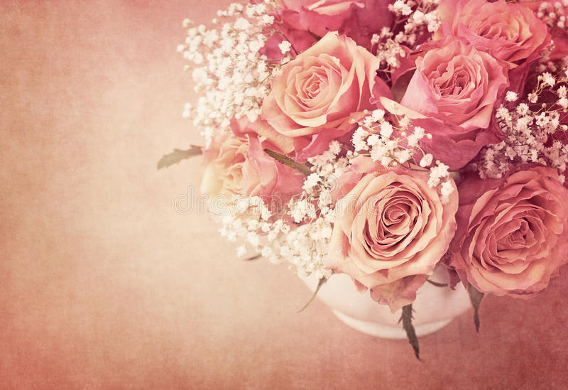 Download Pink roses stock image. Image of beauty, bunch, design - 23951921