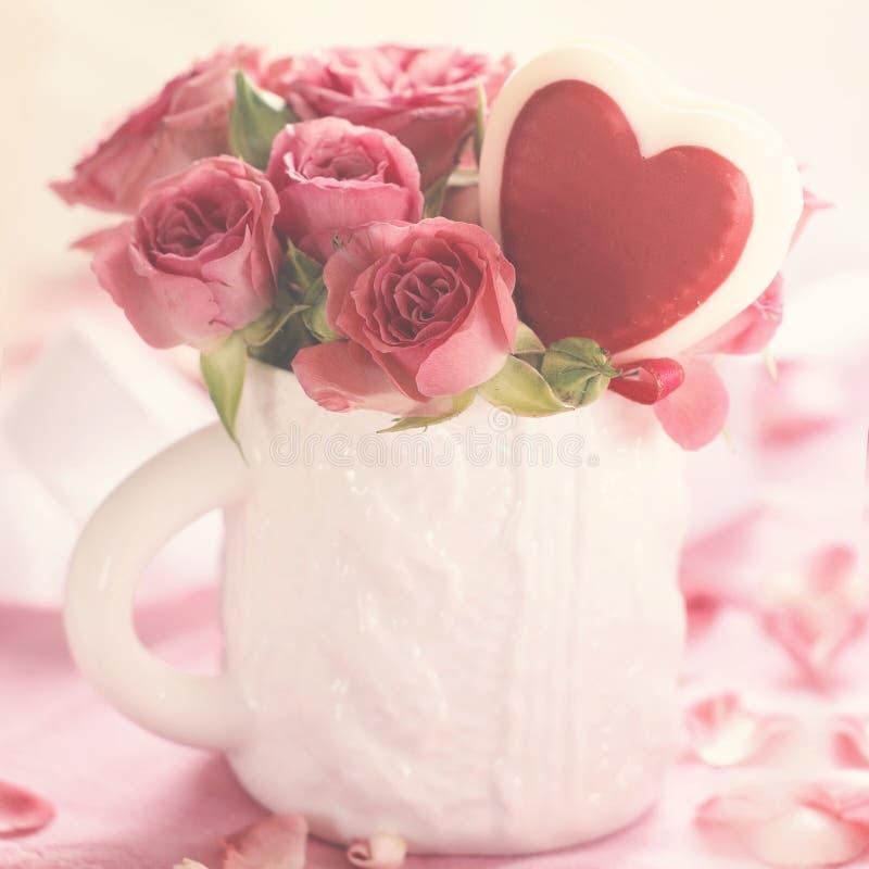 Download Pink roses stock image. Image of leaf, decoration, beauty - 37801333