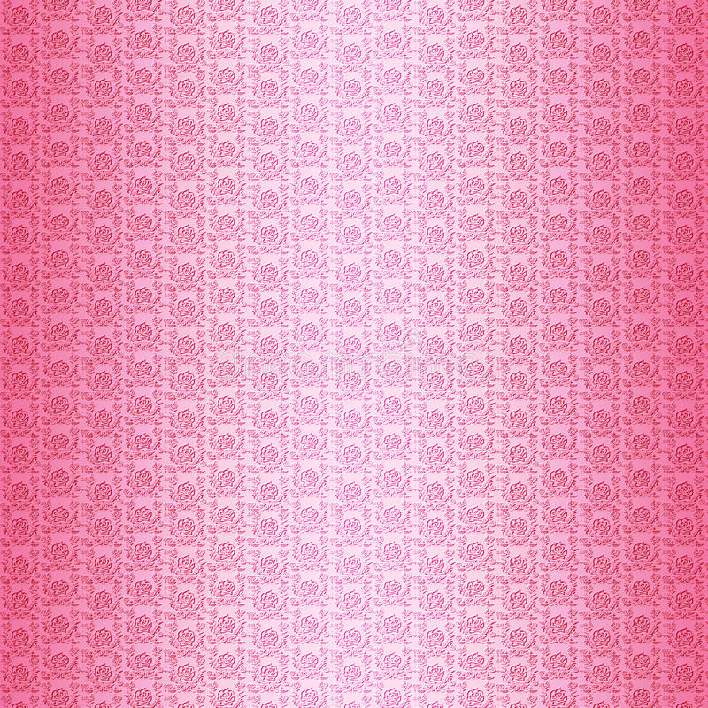Pink roses pattern background stock photo