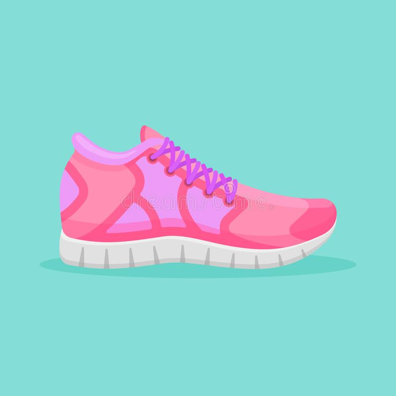 Pink Sneakers Stock Illustrations 1 361 Pink Sneakers