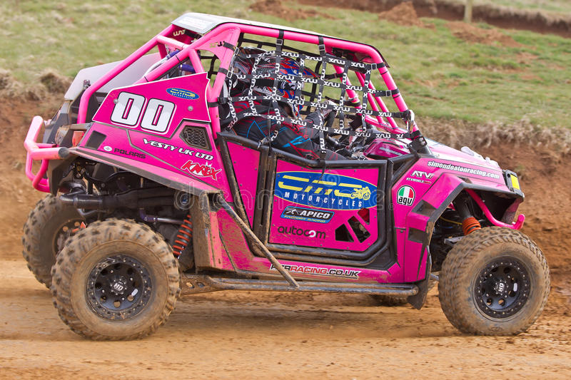 Pink RZR buggy