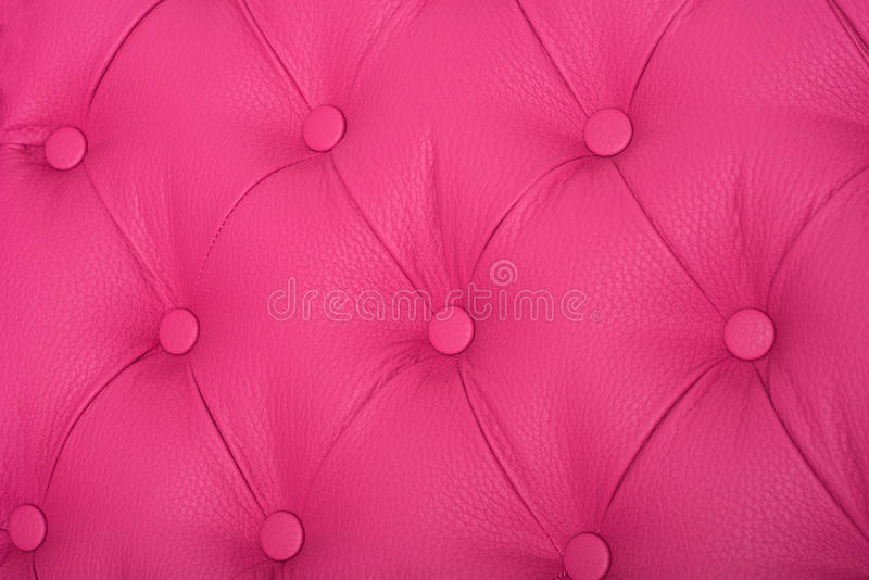 Pink sample of an upholstery of a sofa royalty free stock images
