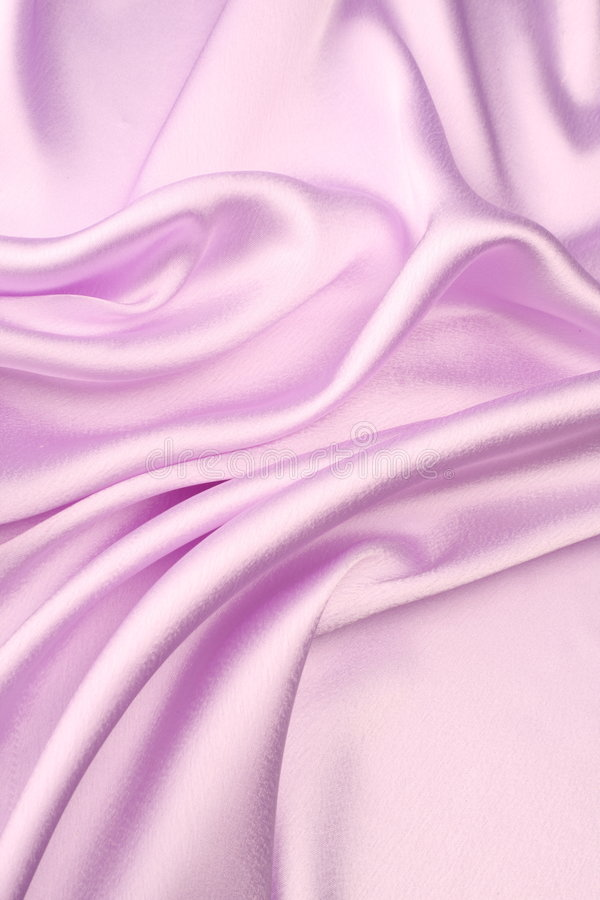 Pink satin background stock image