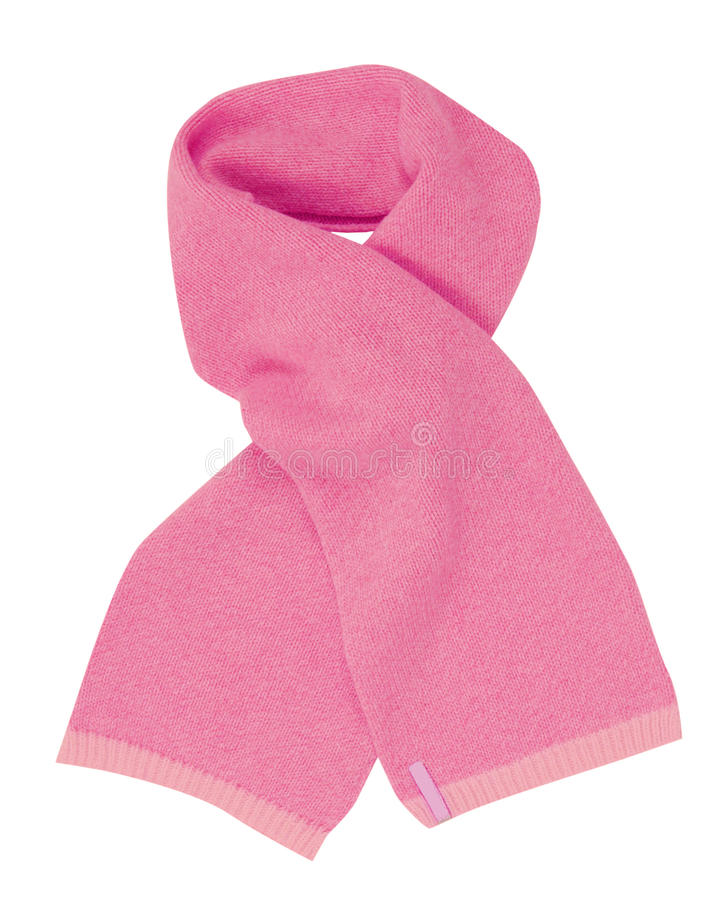 Download Pink Scarf Royalty Free Stock Photography - Image: 27532387
