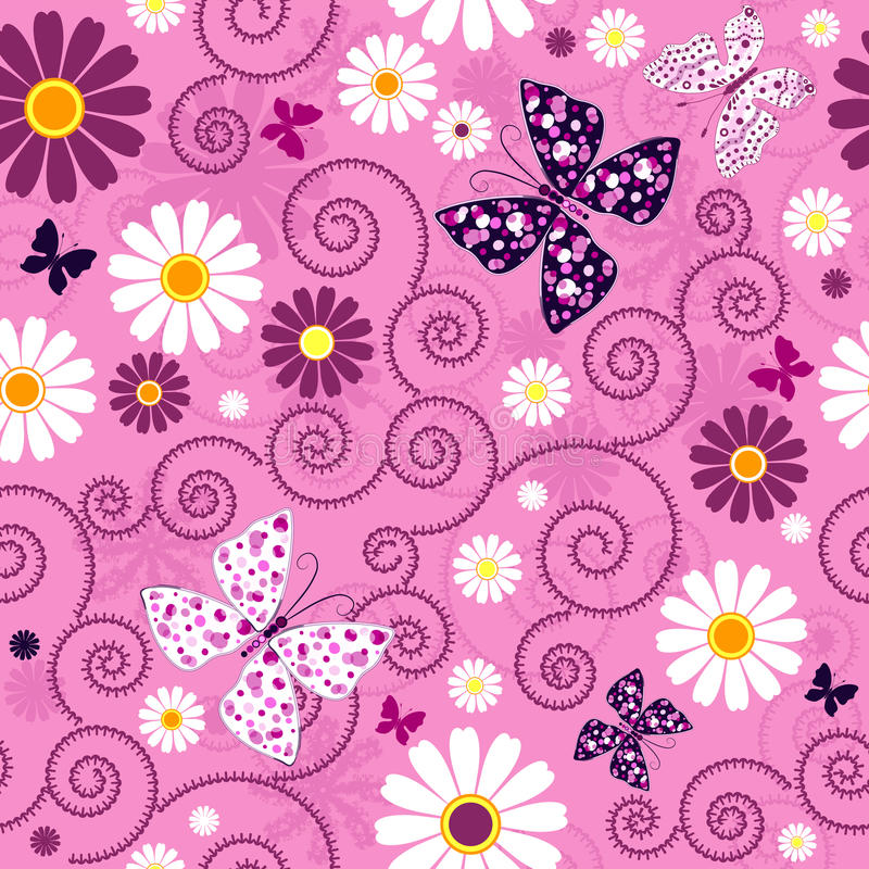 Download Pink Seamless Floral Pattern Stock Photos - Image: 19227953