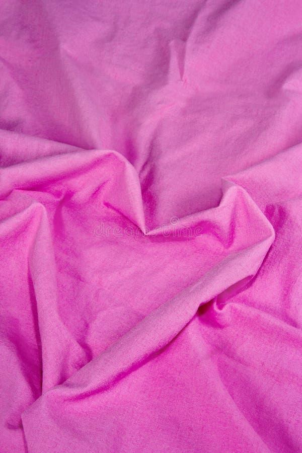 Pink sheet shaped as a heart stock photo