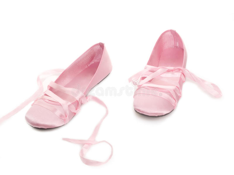 Pink shoes sandals royalty free stock image